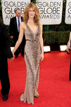 2014 Golden Globes - Red Carpet - Laura Dern
