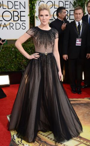 2014 Golden Globes - Red Carpet - Lily Rabe