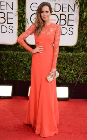 2014 Golden Globes - Red Carpet - Louise Roe