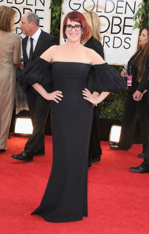 2014 Golden Globes - Red Carpet - Megan Mullally
