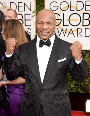2014 Golden Globes - Red Carpet - Mike Tyson