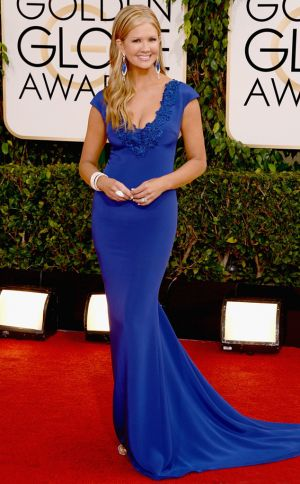 2014 Golden Globes - Red Carpet - Nancy ODell