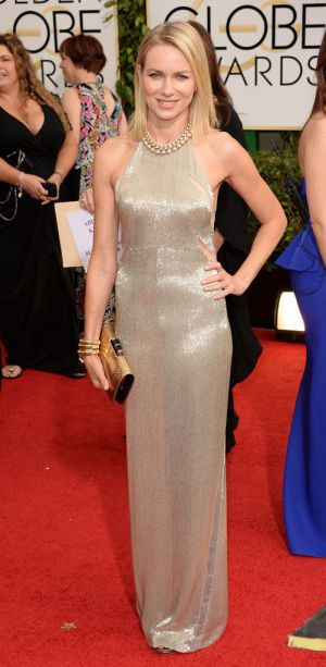 2014 Golden Globes - Red Carpet - Naomi Watts in Tom Ford