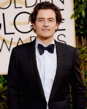 2014 Golden Globes - Red Carpet - Orlando Bloom