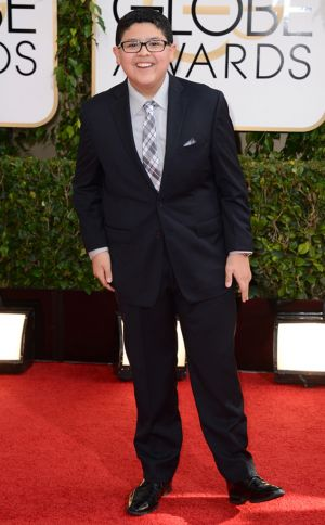 2014 Golden Globes - Red Carpet - Rico Rodriguez