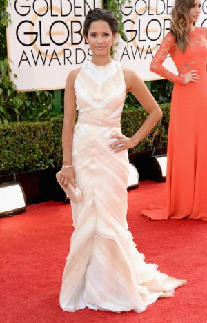 2014 Golden Globes - Red Carpet - Rosci Diaz