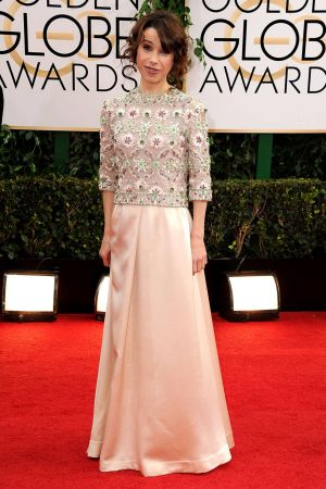 2014 Golden Globes - Red Carpet - Sally Hawkins