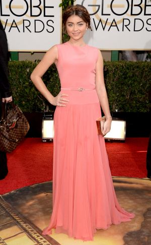 2014 Golden Globes - Red Carpet - Sarah Hyland