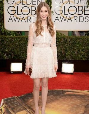 2014 Golden Globes - Red Carpet - Taissa Farmiga