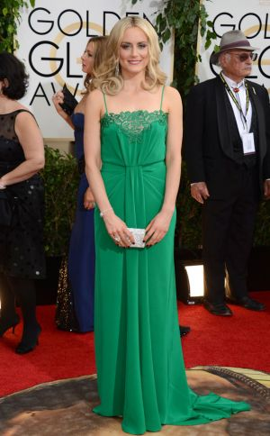 2014 Golden Globes - Red Carpet - Taylor Schilling
