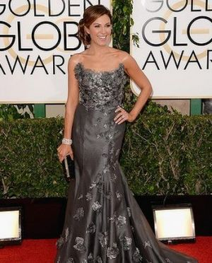 2014 Golden Globes - Red Carpet - Thea Andrews