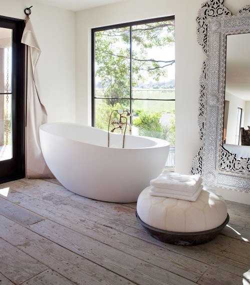 French Country Bathroom Flooring