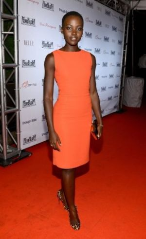 12-Years-a-Slave-Lupita-Nyongo-Orange cocktail dress.jpg