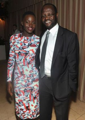 Lupita Nyongo with her father.jpg