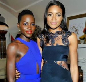 Lupita with actress Naomie Harris.jpg