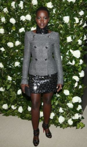 Lupita-Nyong-o-Chanel-Fall-2013-High-Neck-Embellished-Mini-Dress-and-Blazer.jpg