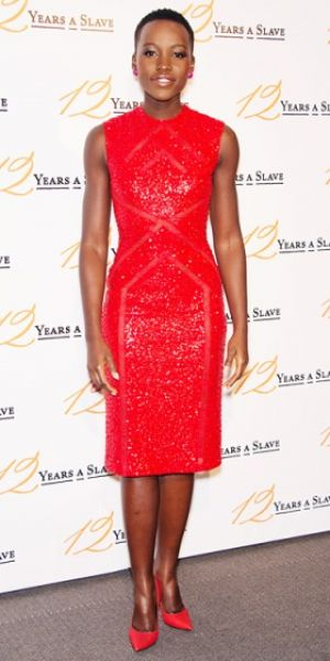 Pictures - Lupita Nyongo - red cocktail dress.jpg