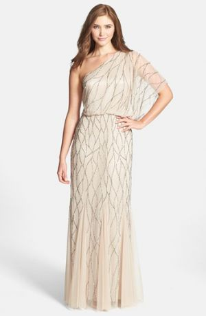 Adrianna Papell grecian-inspired one-shoulder beaded dress.jpg