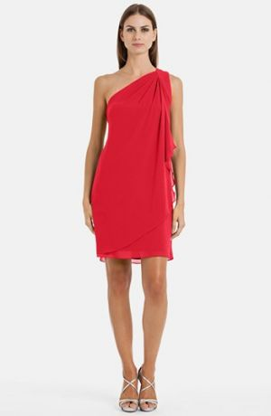 JS Boutique pleat one-shoulder draped crepe dress.jpg