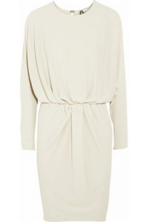 Lanvin white draped crepe dress.jpg