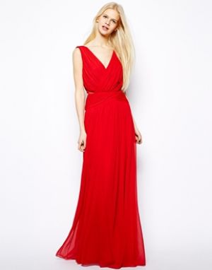 Mango drape Grecian maxi dress from ASOS.jpg