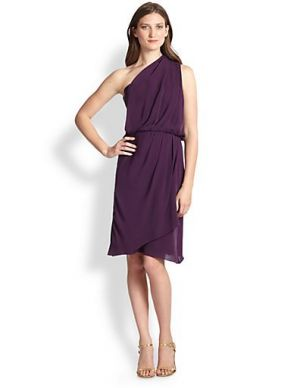Rebecca Taylor purple draped one-shoulder chiffon dress.jpg