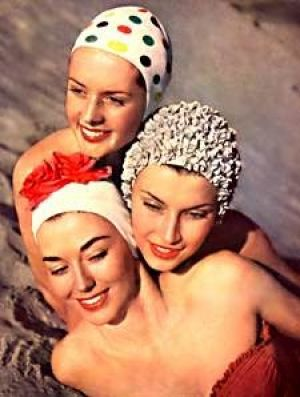 retro swimming cap - www.myLusciousLife.comswimming caps.jpg