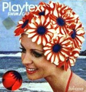 swimming cap - vintage swimming photos - www.myLusciousLife.com.jpg
