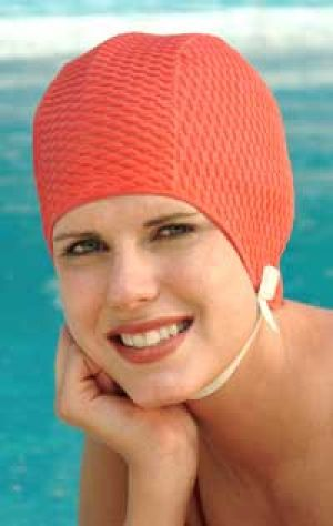 vintage bathing suit - www.myLusciousLife.com - waffle weave chin-strap-swimming-cap.jpg