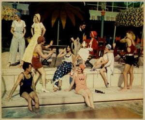 vintage swimwear - www.myLusciousLife.com - 1930s swimming party.jpg