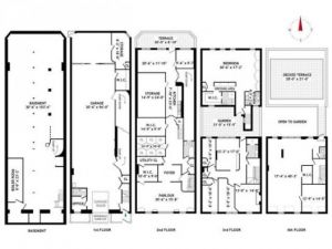 A second smaller house once owned by the Mellon family on East 70th Street - floorplan.jpg