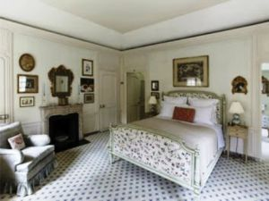 Bedroom - Mellon mansion 125 East 70th Street