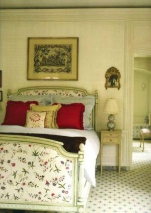 Bunny Mellon bedroom in Manhattan
