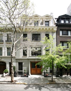 Carriage house - A second smaller house once owned by the Mellon family on East 70th Street.jpg