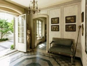 Entrance hall - Mellon mansion 125 East 70th Street