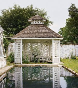Teahouse with pool - Rachel Bunny Mellon - Oak Spring estate in Upperville Virginia.jpg