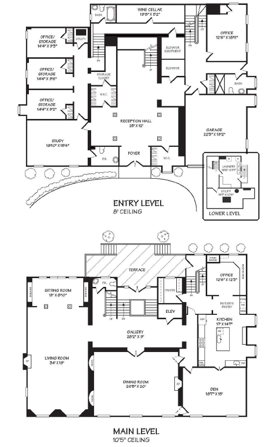 A luscious life rachel bunny mellon part 2 for Washington house plans