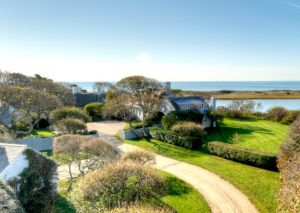Bunny Mellon 26-acre waterfront compound in Osterville MA