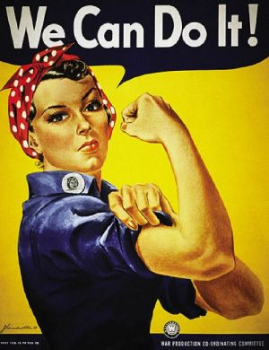 We can do it - vintage poster - female war worker in headscarf.jpg