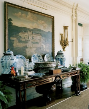 At home with Annette and Oscar de la Rentain their Connecticut home.png