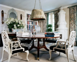 At home with Oscar de la Renta with wife Annette in Connecticut.png