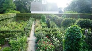 Photo by Oscar de la Renta of his gardens in Kent Connecticut - Annette and Oscar de la Renta garden.jpg