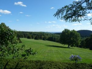 Photo by Oscar de la Renta of his gardens in Kent Connecticut - view.jpg
