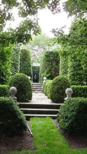 Photo by Oscar de la Renta of the de la Renta family gardens in Kent Connecticut.jpg