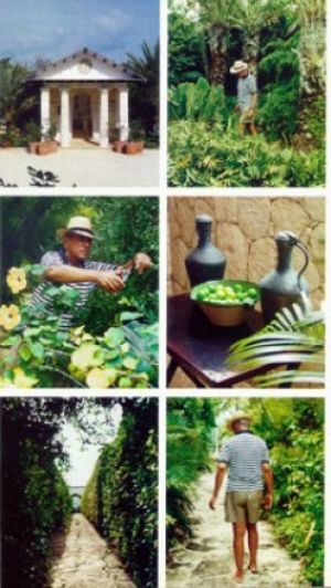 Oscar De La Renta Home famous folk at home: annette and oscar de la renta in the