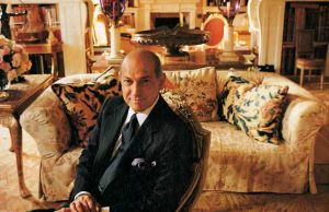 Oscar de la Renta decorates with Bennison Fabrics.jpg