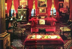 The apartment of Oscar de la Renta from House and Garden 1985.jpg