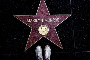 Marilyn Monroe Hollywood star on the Walk of Fame - www.myLusciousLife.com.jpg