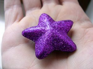 a purple star in the hand - www.myLusciousLife.com.jpg