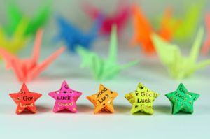 coloured good luck stars - www.myLusciousLife.com.jpg
